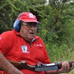 Oom Jan Oosthuizen searching for ammo