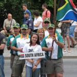 Euro Rifle Champs 2012 Opening Ceremony - Team SA