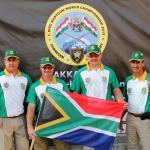 The SA Standard Shotgun Team