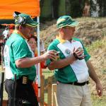 Jan Bondesio and Paul Eksteen strategising....
