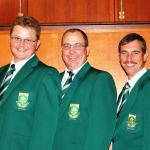 Jan Bondesio, Paul Eksteen, Tinus Botha. The Limpopo boys!